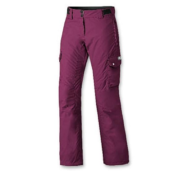 d9c28c635932 Brugi A62A Dámske Zateplené Snowboardové Nohavice fialové
