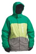 BILLABONG MEN'S BOLT GREEN SNOW JACKET
