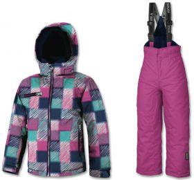 Brugi YM4W Detský Dievčenský Lyžiarský Set Pink