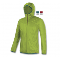 Brugi N44A Man's Outdoor Rain Jacket Green