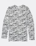 Billabong Warm Up Tech Tee Black White Dámske Termo