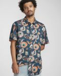 Billabong Sundays Floral Shirt Navy