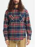 Burton Brighton Premium Flannel Dress Blue Classic Shirts