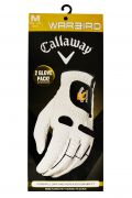 Callaway Warbird Right Hand Man's  Glove 2 Pack