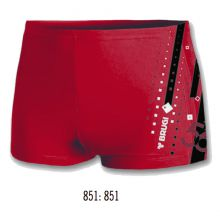 Brugi M41A Man's Swimming Trunks Red