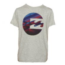 BILLABONG HOT SHOT BOY'S TEE GREY