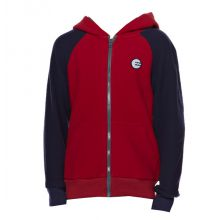 Billabong Titus Red Junior Zipped Hood Fleece Jacket