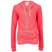 Billabong Essential Women's Zipped Hoodie Neon Coral