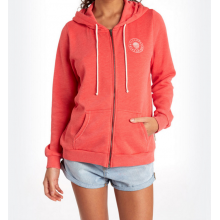 Billabong Stay Golden Women's Zip Hood Hibiscus