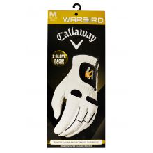 Callaway Warbird Right Hand Man's Glove 2 Pack Lowest Price