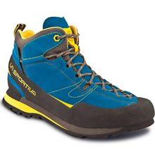 La Sportiva Boulder X Mid GTX Blue Yellow Men's Shoes Lowest Price
