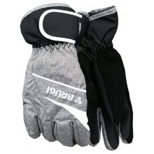 Brugi Z52U T6J Grey Women's Ski Gloves Lowest Price