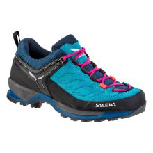 Salewa Mountain Trainer Women's Shoes Blue Sapphire Red Plum Lowest Price