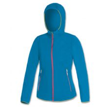 Brugi N72P Woman's Fleece Soft Shell Jacket Sky Blue Lowest Price