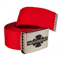 Independent Belt Clipped Cardinal Red