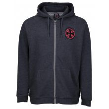 Independent Stage Zip Hood Charcoal Heather