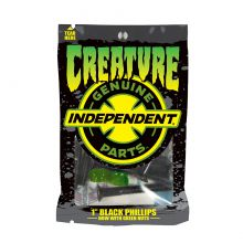 Creature Genuine Parts 1in Phillips Hardware Black Green