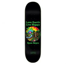 Creature 8.0in x 31.8in Reyes Live Happy Skateboard Deck