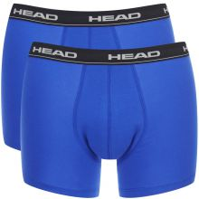 Head Basic Boxer Blue Black Pánske Boxerky 2ks