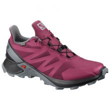 Salomon Supercross GTX W Beet Red Black Monument