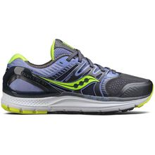 Saucony Redeemer Iso 2 Grey Purple Citron Running Shoes Lowest Price
