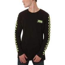 Vans Bmx Waffle Check Men's Long Sleeve Tee Black
