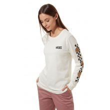 Vans Lizzie Chrys Long Sleeve Marshmallow Lowest Price