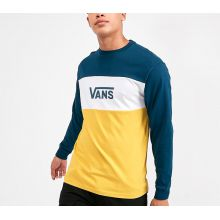 Vans Retro Active Long Sleeve T-Shirt Gibraltar Sea