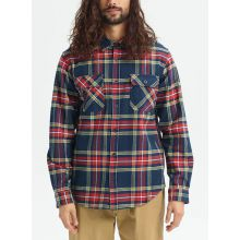 Burton Brighton Premium Flannel Dress Blue Classic Košeľa