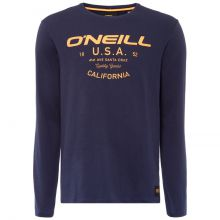 O'Neill Olsen Men's Long Sleeve T-Shirt Ink Blue Lowest Price