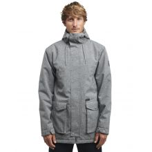 Bllabong Alves 10k Man's Winter Jacket Grey Heather