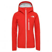 The North Face Descendit Women's Jacket Fiery Red