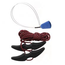 Burton Speed Zone Boot Laces Kit Black Red Lowest Price
