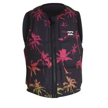 Billabong Palms Wake Vest Black Neon Lowest Price
