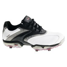 Geox Protech WP Man's Golf Shoes White Black Lowest Price