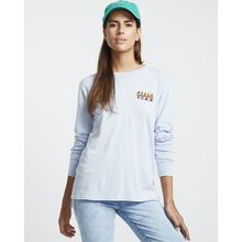 Billabong Take Me Back Ls Tee Tee Shirt Feeling Blue Lowest Price