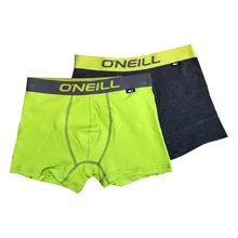 O'Neill Men's Boxers 2 Pack Safety Yellow Grey Mel Lowest Price