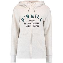 O'Neill Easy Fantastic Full Zip Hoodie White Melee Lowest Price