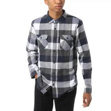 Vans Box Flannel Men's Shirt White Dress Blues Lowest Price