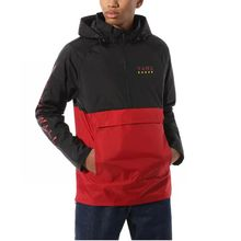 Vans Victory Anorak Men's Jacket Black Chili Pepper Lowest Price