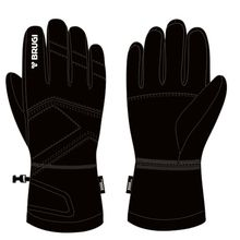 Brugi Jz13 Junior Ski Gloves Black Lowest Price