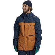 Burton Covert Dress Blue True Penny Pánska Snowboardová Bunda Trvalo Nízke Ceny