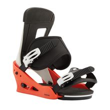 Burton Freestyle Men's Snowboard Binding Red White Black 2021 Trvalo Nízke Ceny
