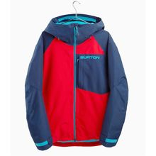 Burton Gore-Tex Radial Men's Insulated Jacket Flame Scarlet Dress Blue Lowest Price