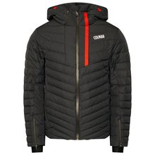 Colmar Hokkaido Man's Ski Jacket Black Bright Red Lowest Price