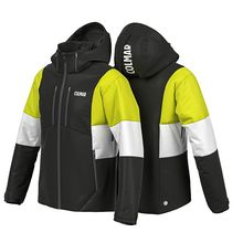 Colmar Whistler Colorblock Ski Jacket Black Lime White Lowest Price