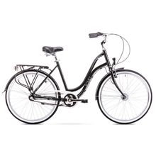 Romet Pop Art City 26 Black City Bicycle Lowest Price