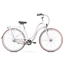 Romet Pop Art City 28 White City Bicycle Lowest Price