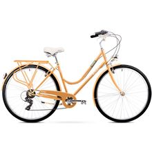 Romet Vintage Lady City 28 Peach City Retro Bike Lowest Price