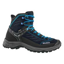 Salewa Hike Trainer Mid Gtx Hector French Blue Women's Hiking Shoes Lowest Price